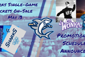 Single-Game Tickets On-Sale May 13 and Sharks Promotional Schedule Announced