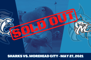 Sharks Season Opener Tonight SOLD OUT